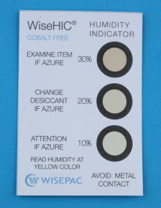 10%-30% Copper Cobalt Free (HIC) Humidity Indicator Card (WiseHIC) pictures & photos