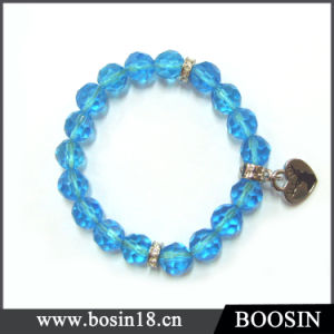 Blue Acrylic Bead Bracelet China Wholesale #31014 pictures & photos