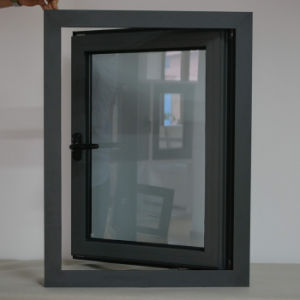 High Quality Customized Grey Colour Aluminum Casement Window pictures & photos