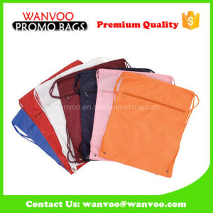 Colorful Nylon Drawstring Travel Backpack pictures & photos