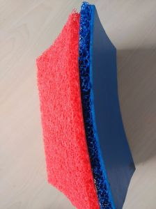 Non-Slip PVC Coil Mat with Unfoam Backing pictures & photos
