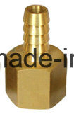 Brass Barb Adapter Hydraulic Hose Fitting (I. D X FIP) pictures & photos