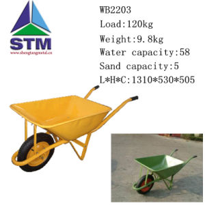 High Quality Construction Wheelbarrow (Wb2203)