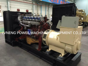 Lvneng Worldwide Popular High Power 2*400kw Gas Generator Set pictures & photos