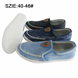 New Style Fashion Men′s Slip on Casual Shoes Jean Shoes (MP16721-9) pictures & photos