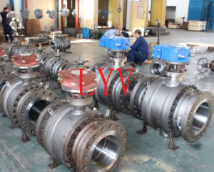 Full Bore / Full Port Flanged Ball Valve pictures & photos