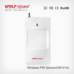 High Quality Wireless High Stability Intelligent PIR Detector (HW-01A) pictures & photos