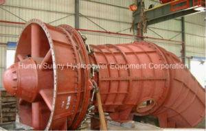 Hydro (Water) Tubular Turbine-Generator High Voltage 6.3~10.5kv / Hydroturbine / Hydropower pictures & photos