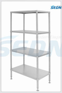Handmade Commercial Stainless Steel Tier Shelves (MT2020) pictures & photos