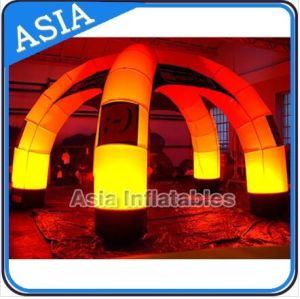 Giant Inflatable Dome Tent for Warehouse, Party and Events, Large Eco-Friendly Cheap Camping Tent & Wedding Tent with LED pictures & photos