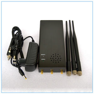 Portable All Remote Controls RF Jammer (315/433/868MHz) , 315MHz/433MHz/868MHz Remote Control Jammer pictures & photos