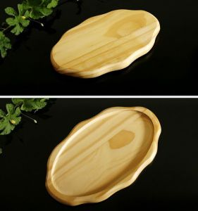 Wavy Edge Oval Sushi Plate Cooking Utensils Shing Terrace Cheap Platter pictures & photos