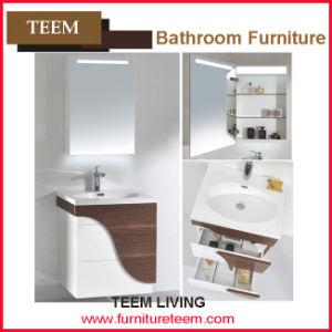 2015 Teem Modern Furniture High Gloss Bathroom Wall Mount Cabinet pictures & photos