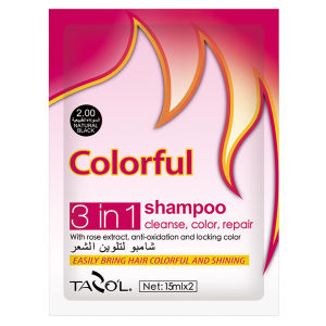 House Use Natural Black Colorful Shampoo Hair Color cosmetic pictures & photos