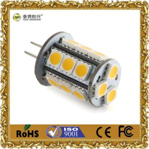 G4 LED Bulb DC 12V 18SMD 5050 pictures & photos