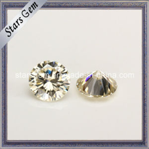 Hot Sale Product Light Yellow Moissanite for Sale pictures & photos