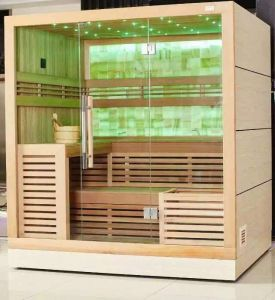 Customized Canada Red Cedar SPA Enjoyed Sauna for 2 Person pictures & photos
