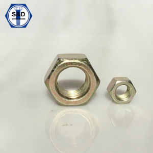 SAE J995 Grade5 Hex Nuts, Zinc Yellow pictures & photos