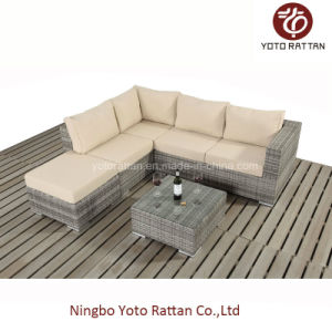 Small Sofa Set for Outdoor with Rattan / Wicker / SGS (401-A) pictures & photos