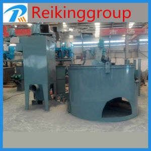 Flat Rust Workpiece Turnable Shot Blasting Machine pictures & photos