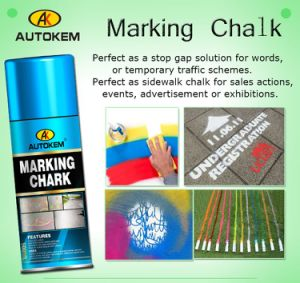 Marking Chalk, Chalk Spray, Temporary Marking Paint, Event Marking Paint, Water Removeable pictures & photos