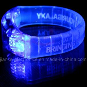 Flashing LED Blinking Bracelet with Logo Print (4011) pictures & photos