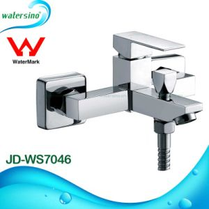 Brass Wall Mounted Shower Mixer Bathtub Shower Set with Spout pictures & photos