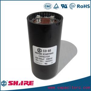 CD60 Capacitor 220V for Refrigerator Compressor Starting Capacitor pictures & photos