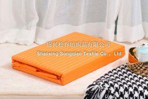 100% Cotton Plain Bed Sheet 4 pictures & photos