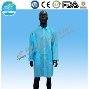 Disposable Doctor Gown Chemistry Lab Coat Laboratory Productions pictures & photos