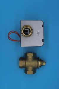 2 Port Actuator Motorised Hydronic Zone Valve (HTW-V71) pictures & photos