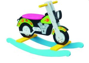 Hot Sale Wooden Rocking Moto Toy for Kids and Children pictures & photos