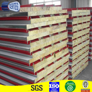 PU-Rockwool insulation panel/wall sandwich panel/Rockwool Sandwich Panel pictures & photos