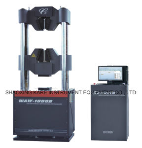 Computerized Electro-Hydraulic Servo Universal Testing Machine (WAW-1000B) pictures & photos