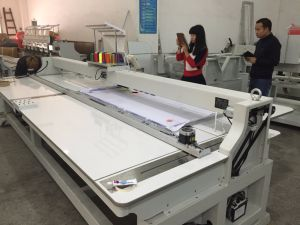 New Design 1500*1000mm Single Head 15 Colors Embroidery Machine Wy1501hl pictures & photos