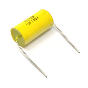 Metallized Polypropylene Capacitor (Cbb20 335j 250VAC) with Copper Wire for Running Axial Yellow Capacitor All Series of Cbb20 pictures & photos