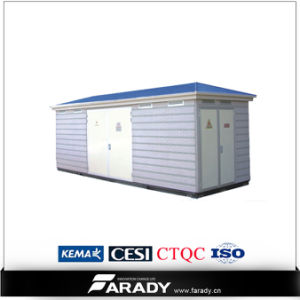 Outdoor 11kv Three Phase Kiosk Mobile Substation pictures & photos