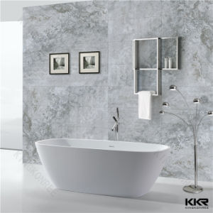 Kkr Solid Surface Artifical Stone Bathtub Standing Bathtub pictures & photos