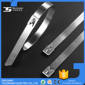 High Flame Retardant Naked Self Locking Steel Cable Tie