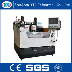 Mobile Phone Glass Cover Double Spindle Engraving Machine pictures & photos
