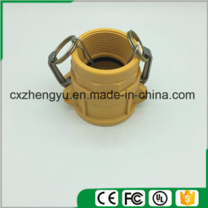 Plastic Camlock Couplings/Quick Couplings (Type-D) , Yellow Color pictures & photos