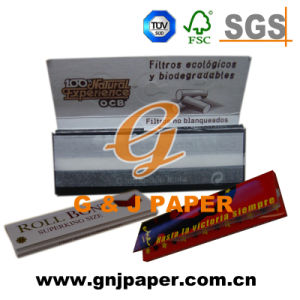 Regular Size Cigarette Wrapping Paper in Sheet and Roll pictures & photos