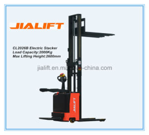 Electric Stacker Cl2026B pictures & photos