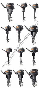 2 Stroke 9.8HP 9.9HP 15HP Yamabisi Outboard Engine pictures & photos