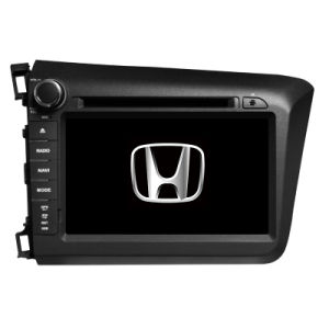 Mtk3360 Solution Car Multimedia Player for Honda Civic 2012 with Reversing Camera Bt 3G iPod RDS TV RDS