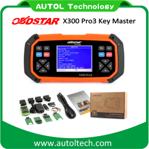Obdstar X300 PRO3 Key Master (Full package configuration) Obdii X300 PRO3 Key Programmer Odometer Correction Tool Free Update Online One Year pictures & photos