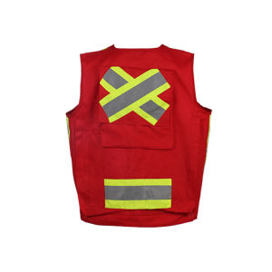 High Quality Reflective Safety Vest with Class 2, CSA Z9609 pictures & photos