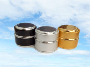 15/30g Different Color Aluminum Metal Shelled Glass Jars pictures & photos