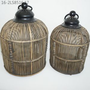 Three Colors of Characteristic Bamboo Lanterns pictures & photos
