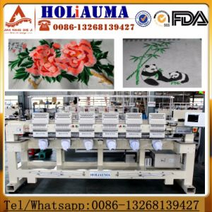 6 Heads Computerized Embroidery Machine Tajima Software Swf Similar China Good Quality Sequin Embroidery Machine Cap Flat Embroidery Machine pictures & photos